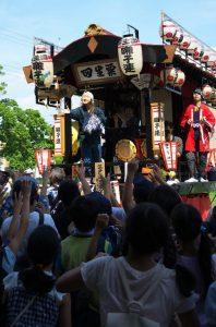 平成30年度八坂神社夏祭り地区内渡御