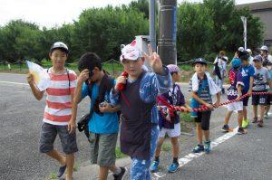平成30年度坂戸八坂神社夏祭り地区内渡御2日目