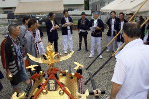 令和元年度八坂神社夏祭り会所開き