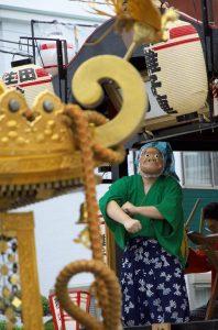 令和元年度八坂神社夏祭り宮神輿トラック渡御