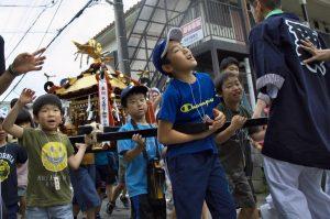 令和元年度八坂神社夏祭り地区内渡御