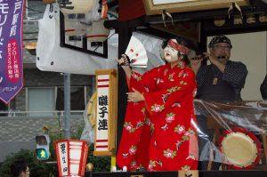 令話元年度坂戸八坂神社夏祭り屋台曳行1日目
