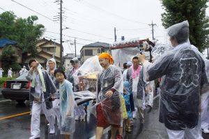 令和元年度坂戸八坂神社夏祭り地区内渡御2日目