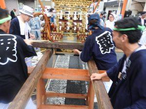 令和元年度坂戸八坂神社夏祭り宮神輿渡御